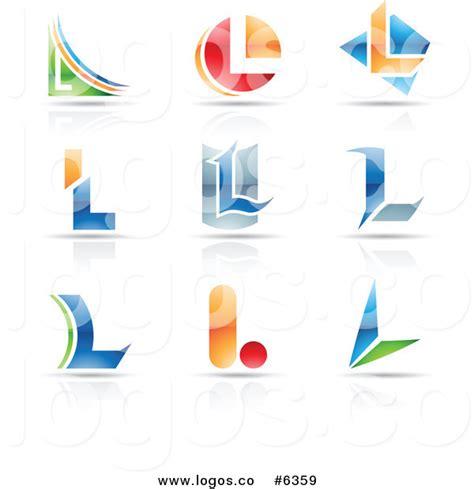 free logo alphabet design royalty free clip art vector logos of colorful letter l