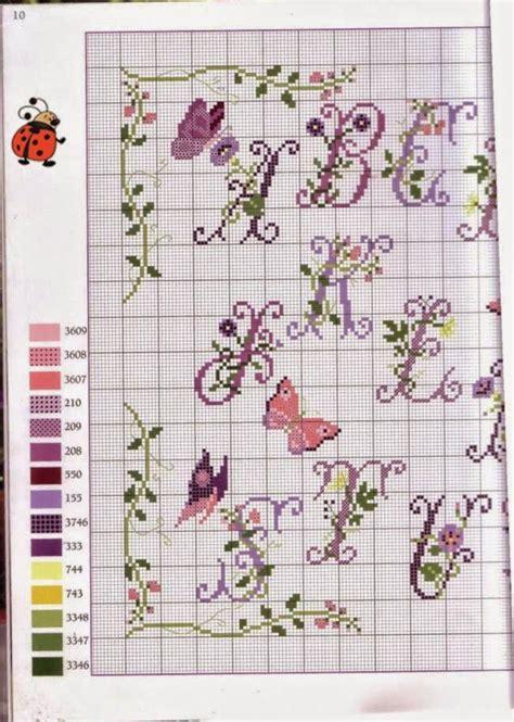 schema pattern d punto croce schemi gratis e tutorial schema alfabeto