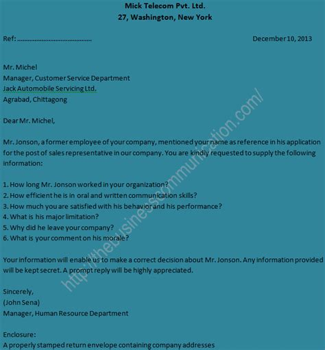 Inquiry Letter About Application Status sle of personal status inquiry letter