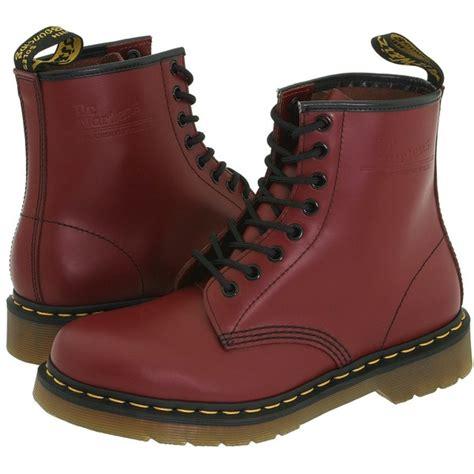Sepatu Boots Dr Martin Docmart Maroon dr martens 1460 polyvore