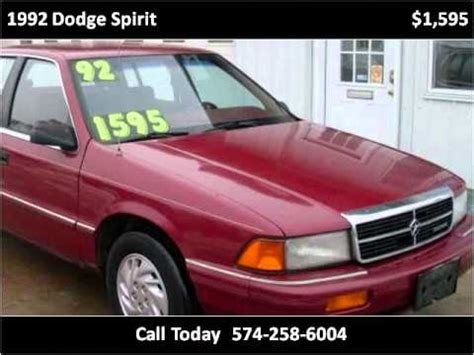 how to work on cars 1992 dodge spirit regenerative braking 1992 dodge spirit available from howard s auto sales youtube