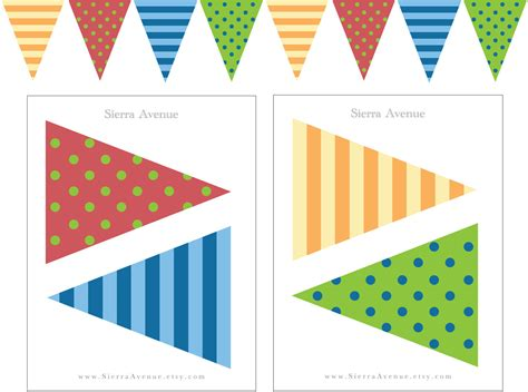printable banner flags printable birthday banner flags dinosaur birthday by
