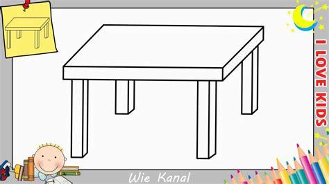 tische zeichnen tisch zeichnen lernen einfach schritt f 252 r schritt f 252 r