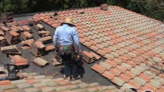 Tile Roof Installation Modern Roofing Tile Roofing Install