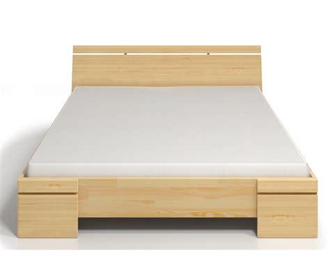 de letto letto in legno sparta in pino con contenitore vivere zen