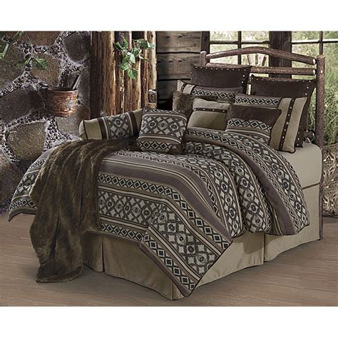 Southwestern Bedding Sets Tucson Southwestern Geometric Pattern Western Bedding Set