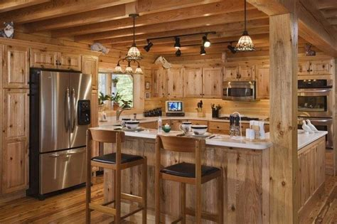 Dark Wood Cabinets Kitchen Easy Ways To Achieve The Rustic Kitchen Look Decor