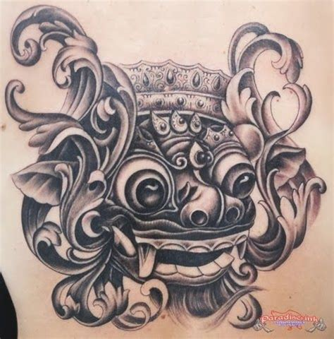 indonesian tribal tattoo designs 21 best balinese barong tattoo images on pinterest