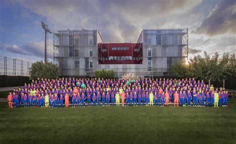 barcelona youth academy fc barcelona s 2016 17 youth academy teams presented
