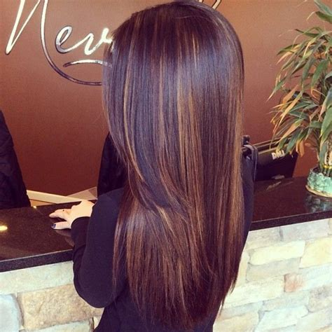 Beautiful My Hair And Highlights On Caramel Brown Scattered Highlights Beautiful