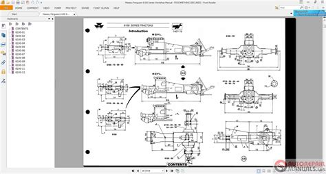 agricultural tractor wiring diagrams tractor