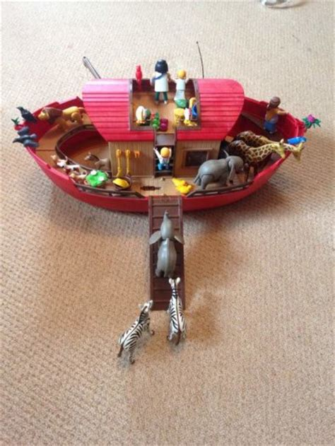 playmobil noahs ark boat with animals for sale in lorrha - Noah S Ark Boat With Animals