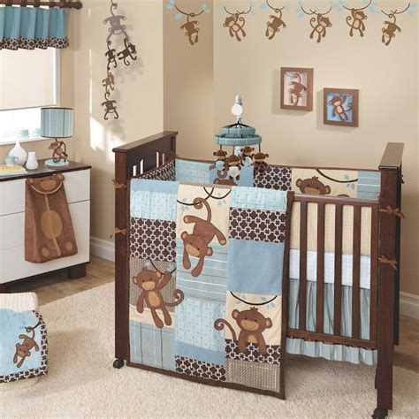 Monkey Crib Bedding Boy Environmentally Friendly Baby Toddler Furniture And Green Design Ideas