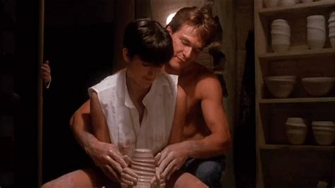 ghost film pottery scene youtube neil patrick harris gif find share on giphy