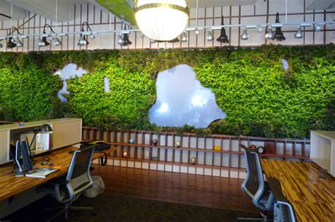 interior garden wall ltl architects create living wall of central park for
