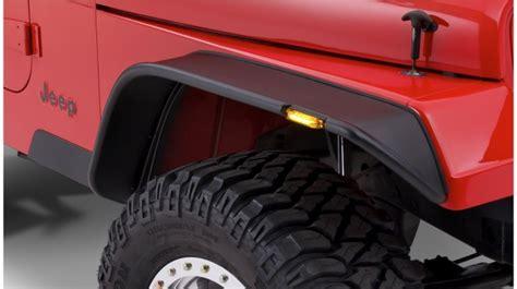 2000 Jeep Wrangler Fender Flares Fender Flares Bushwacker Flat Style Jeep Wrangler Yj