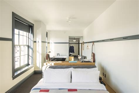 this look a bedroom suite at the new ace hotel