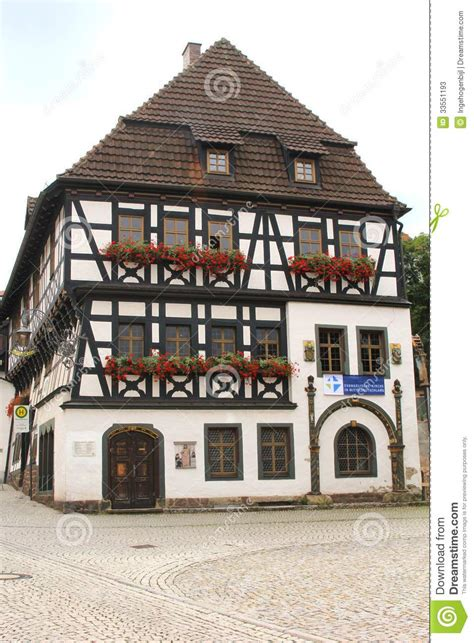 luther house historic martin luther house in eisenach germany stock photos image 33551193