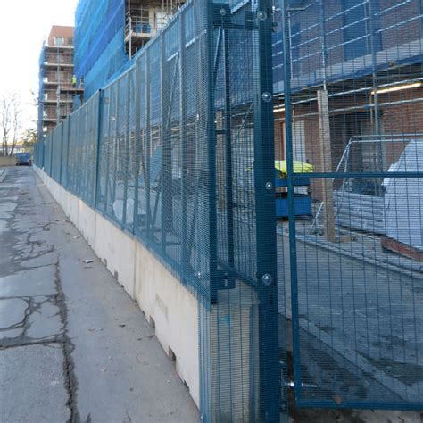 prefab fence sections modular vcb security fence polmil 174