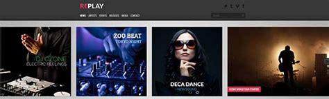 themes for google chrome dj 20 best radio podcasts website designs