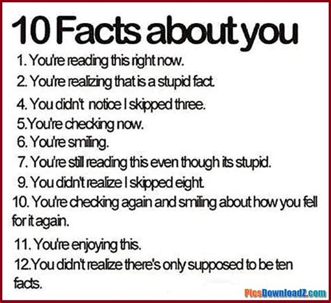 10 Facts On by 10 True Facts About You Jokes Adsbby