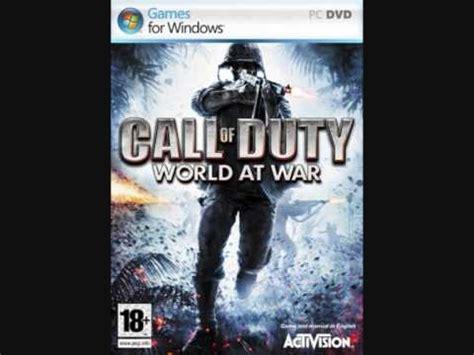 theme music world at war cod waw soundtrack chernov doovi
