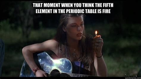 Fifth Element Meme - that moment when you think the fifth element in the