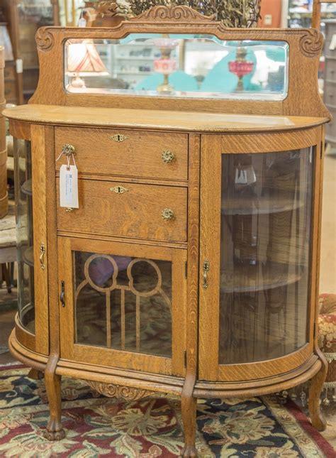 curved glass antique curio cabinet antique curio cabinet with curved glass what s it worth