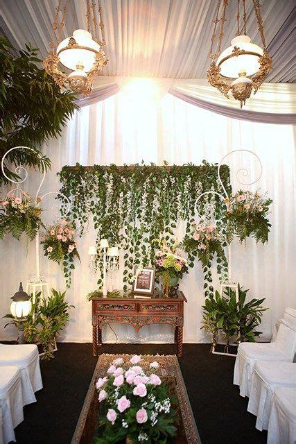 Dekorasi Lamaran Paper Flower Backdrop acara lamaran diy dengan tema warna pink img 7638 wedding inspiration