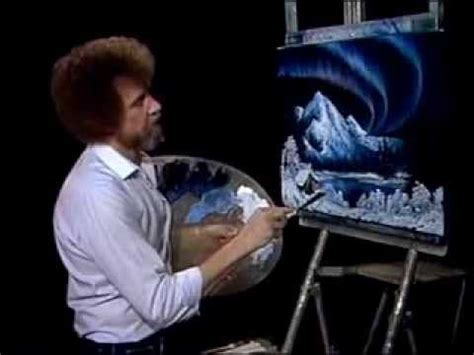 bob ross painting clip pin by on the of