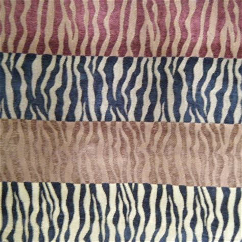 zebra fabric for upholstery zebra multi multi chenille animal print upholstery fabric