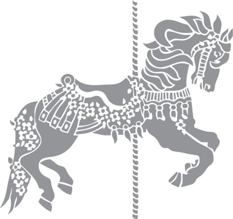 carousel pony pre cut patterns