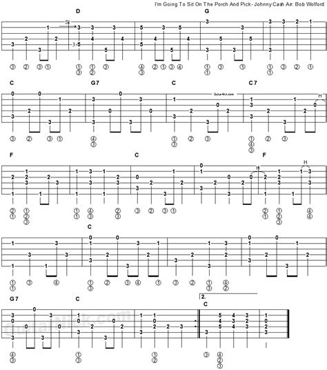 On Your Porch Chords i m going to sit on the porch and fingerpicking guitar lesson guitarnick