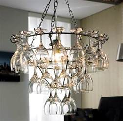 wine glass chandelier diy diy wine glass rack hanging type home design