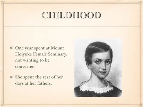 biography about emily dickinson emily dickinson
