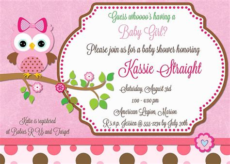 Make Your Own Baby Shower by Design Your Own Baby Shower Invitations Baby Shower For