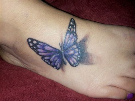 purple butterfly tattoo designs 3d butterfly on foot thepix info