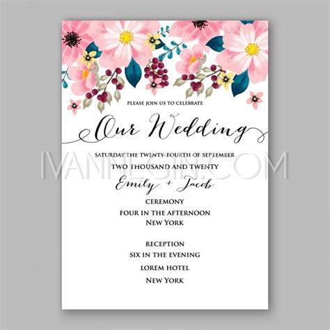 designmantic wedding invitations wedding invitation template vector gallery invitation
