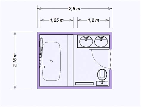 plan salle de bain 5m2 4438 salle de bain 5m2 plan