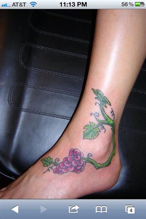 grapevine tattoo designs 13 best tattoos images on grape vines