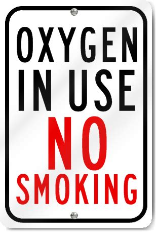 no smoking sign use oxygen in use no smoking sign signstoyou com