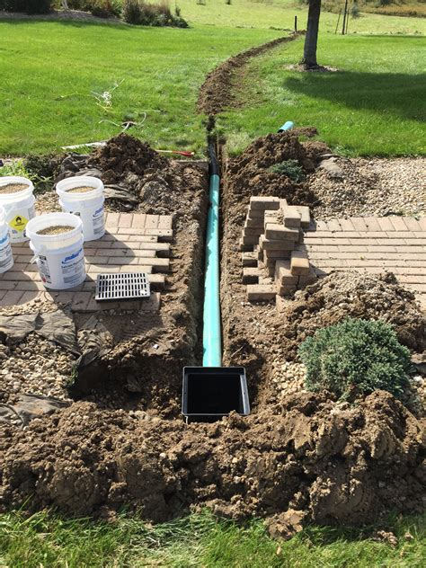 drainage system for backyard site grading drainage bloomington normal il gudeman