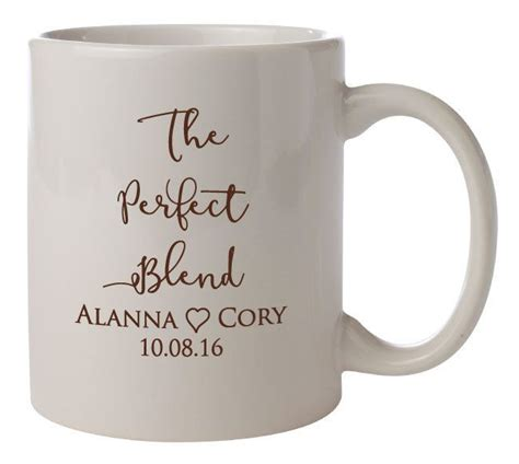 Wedding Favors Mugs by 25 Best Ideas About Personalized Coffee Mugs On