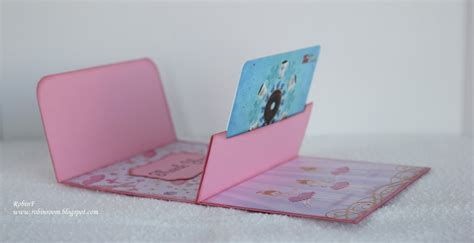 Gift Card Carrier - robin s room thank you gift card holder