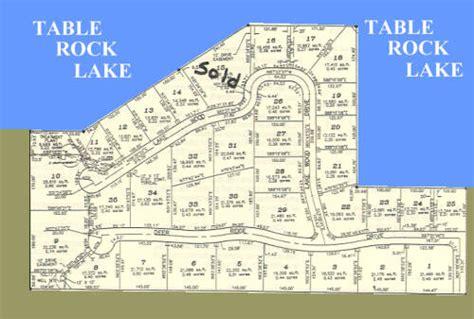 splitrail subdivision table rock lake missouri