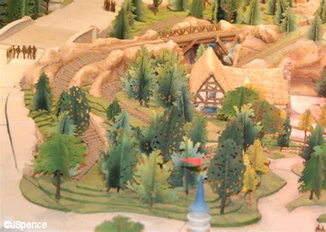 disney new fantasyland seven dwarfs mine concept new fantasyland model the world according to