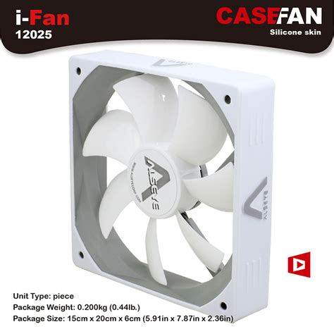 white pc case fans aliexpress com buy alseye 120mm cooler fan for computer