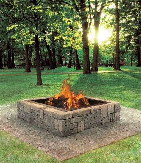 this rustic fire pit makes a great addition to your backyard cabin or patio extend your