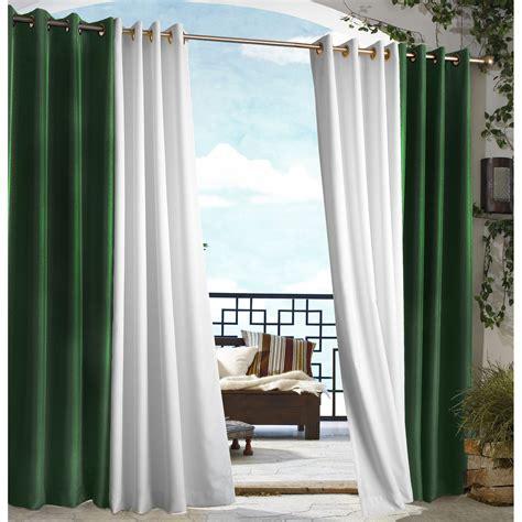outdoor decor gazebo grommet outdoor curtain panel