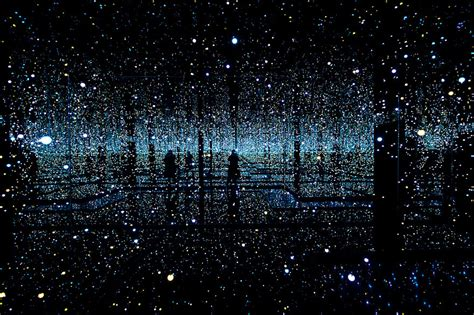 Infinity Mirrored Room by Infinity Mirrored Room By Yayoi Kusama Gives Visitors A